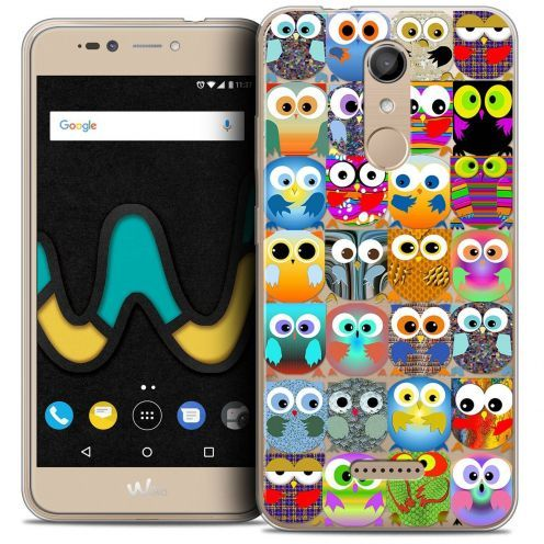"Coque Crystal Gel Wiko U Pulse (5.5"") Extra Fine Claude - Hibous"