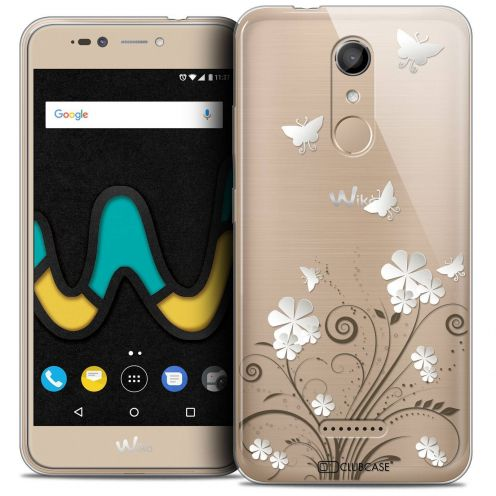 "Coque Crystal Gel Wiko U Pulse (5.5"") Extra Fine Summer - Papillons"