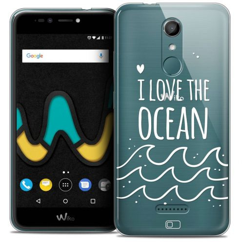 "Coque Crystal Gel Wiko U Pulse (5.5"") Extra Fine Summer - I Love Ocean"