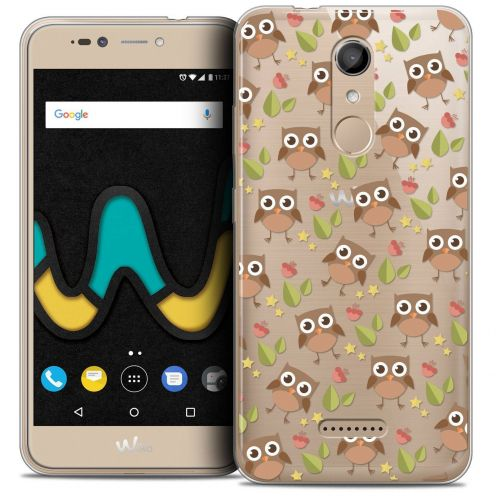 "Coque Crystal Gel Wiko U Pulse (5.5"") Extra Fine Summer - Hibou"