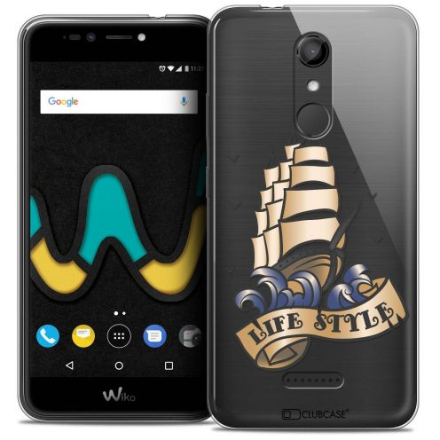 "Coque Crystal Gel Wiko U Pulse LITE (5.2"") Extra Fine Tatoo Lover - Life Style"