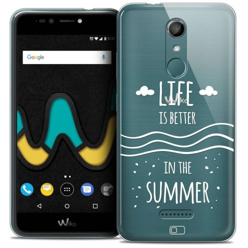 "Coque Crystal Gel Wiko U Pulse LITE (5.2"") Extra Fine Summer - Life's Better"