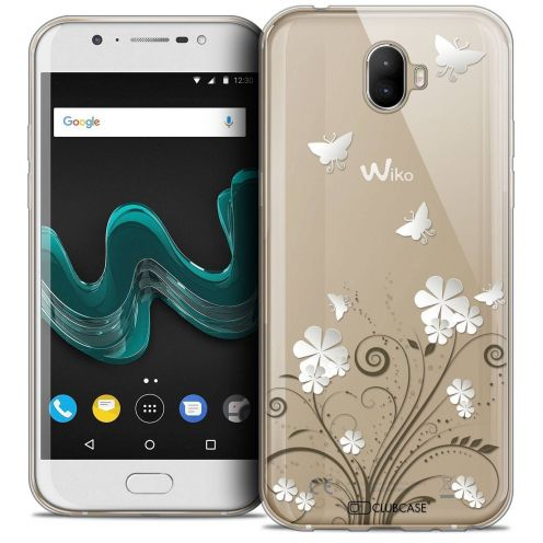 """Coque Crystal Gel Wiko Wim (5.5"""") Extra Fine Summer - Papillons"""