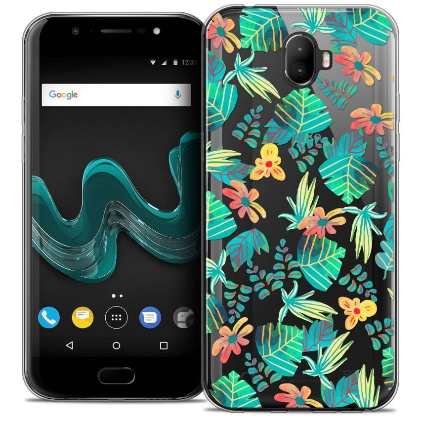 "Coque Crystal Gel Wiko Wim (5.5"") Extra Fine Spring - Tropical"