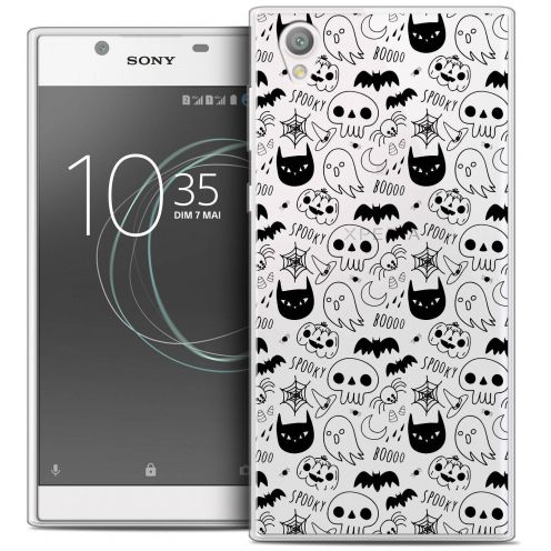 "Coque Crystal Gel Sony Xperia L1 (5.5"") Extra Fine Halloween - Spooky"