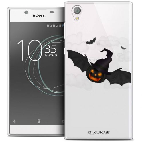 "Coque Crystal Gel Sony Xperia L1 (5.5"") Extra Fine Halloween - Chauve Citrouille"