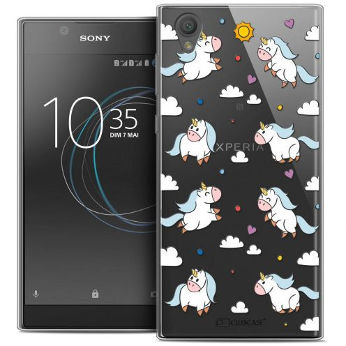"Coque Crystal Gel Sony Xperia L1 (5.5"") Extra Fine Fantasia - Licorne In the Sky"
