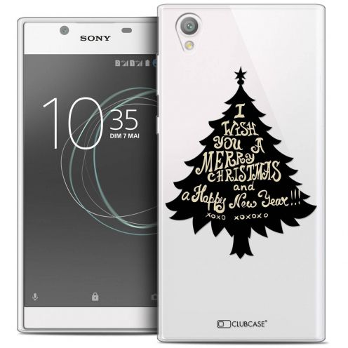 "Coque Crystal Gel Sony Xperia L1 (5.5"") Extra Fine Noël 2017 - XOXO Tree"