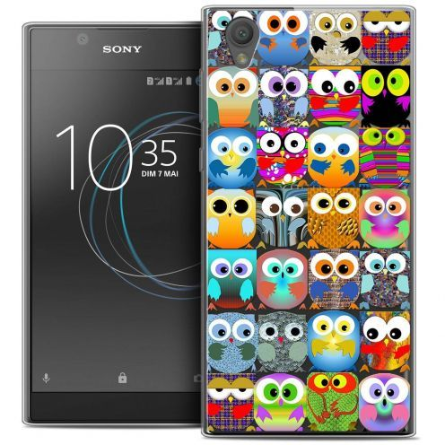 "Coque Crystal Gel Sony Xperia L1 (5.5"") Extra Fine Claude - Hibous"