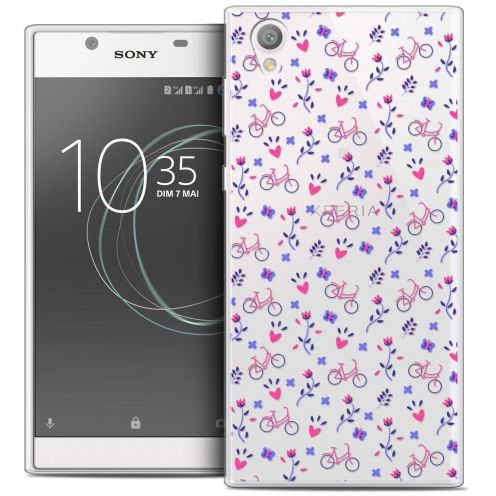 """Coque Crystal Gel Sony Xperia L1 (5.5"""") Extra Fine Love - Bicycle"""