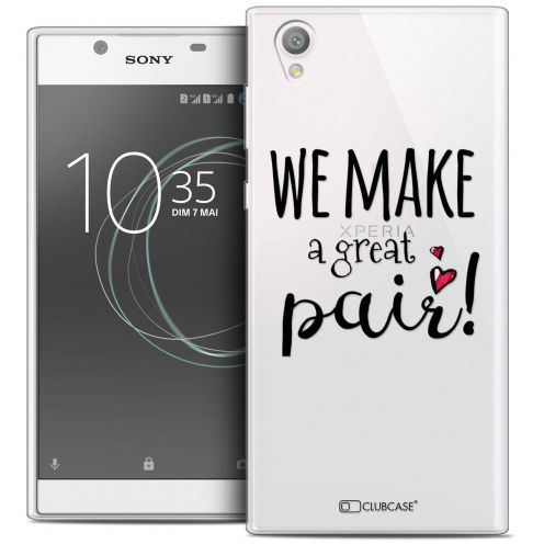 """Coque Crystal Gel Sony Xperia L1 (5.5"""") Extra Fine Love - We Make Great Pair"""
