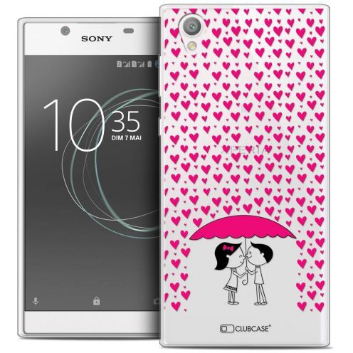 """Coque Crystal Gel Sony Xperia L1 (5.5"""") Extra Fine Love - Pluie d'Amour"""