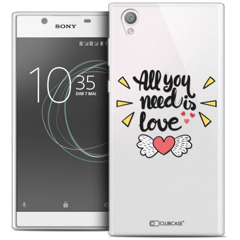 "Coque Crystal Gel Sony Xperia L1 (5.5"") Extra Fine Love - All U Need Is"