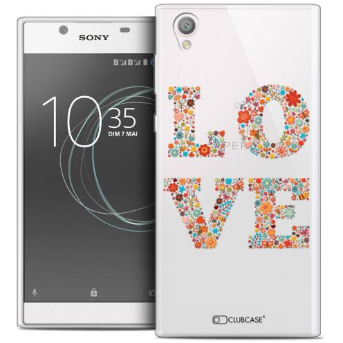 "Coque Crystal Gel Sony Xperia L1 (5.5"") Extra Fine Summer - Love Flowers"