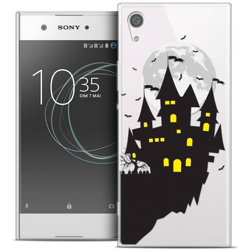 "Coque Crystal Gel Sony Xperia XA1 Ultra (6"") Extra Fine Halloween - Castle Dream"