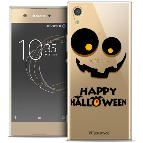 "Coque Crystal Gel Sony Xperia XA1 Ultra (6"") Extra Fine Halloween - Happy"