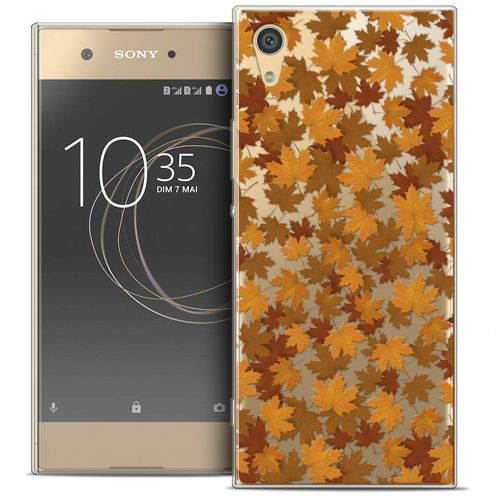 "Coque Crystal Gel Sony Xperia XA1 Ultra (6"") Extra Fine Autumn 16 - Feuilles"