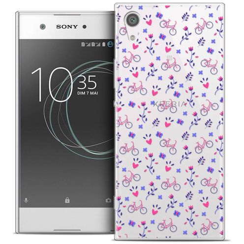 "Coque Crystal Gel Sony Xperia XA1 Ultra (6"") Extra Fine Love - Bicycle"