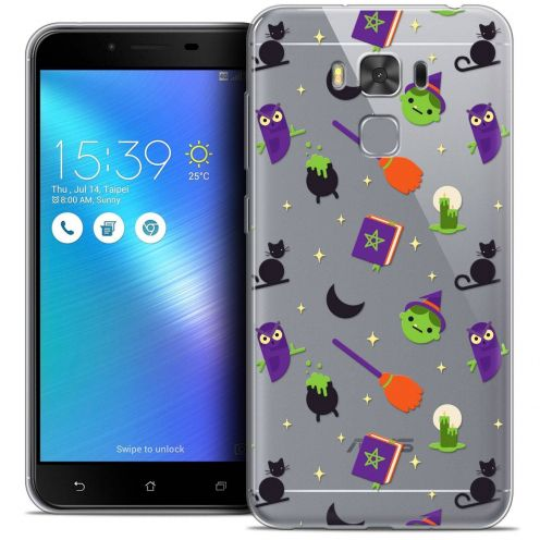 "Coque Crystal Gel Asus Zenfone 3 Max Plus ZC553KL (5.5"") Extra Fine Halloween - Witch Potter"