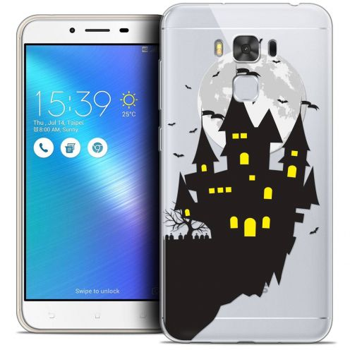 "Coque Crystal Gel Asus Zenfone 3 Max Plus ZC553KL (5.5"") Extra Fine Halloween - Castle Dream"