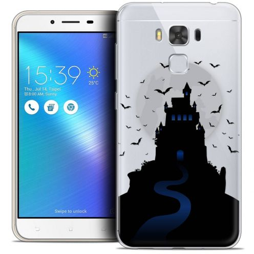 "Coque Crystal Gel Asus Zenfone 3 Max Plus ZC553KL (5.5"") Extra Fine Halloween - Castle Nightmare"
