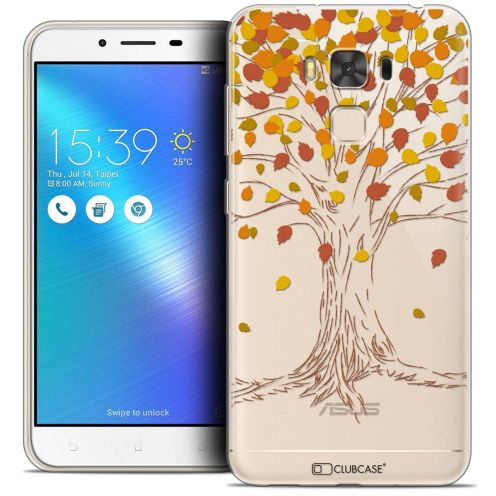 "Coque Crystal Gel Asus Zenfone 3 Max Plus ZC553KL (5.5"") Extra Fine Autumn 16 - Tree"