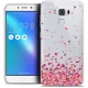 "Coque Crystal Gel Asus Zenfone 3 Max Plus ZC553KL (5.5"") Extra Fine Sweetie - Heart Flakes"