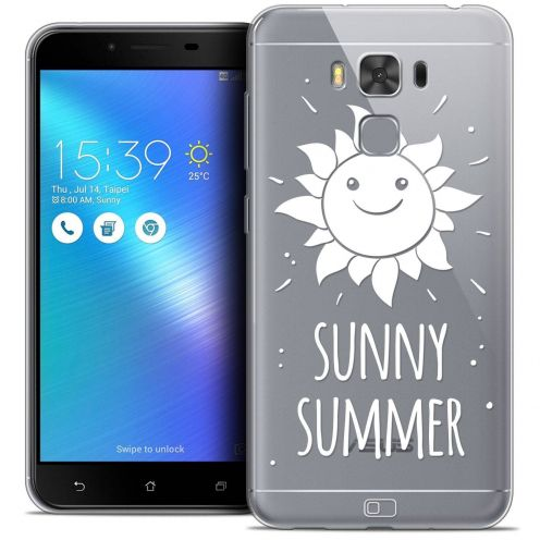 "Coque Crystal Gel Asus Zenfone 3 Max Plus ZC553KL (5.5"") Extra Fine Summer - Sunny Summer"