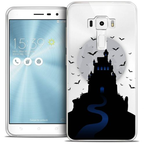 "Coque Crystal Gel Asus Zenfone 3 ZE520KL (5.2"") Extra Fine Halloween - Castle Nightmare"