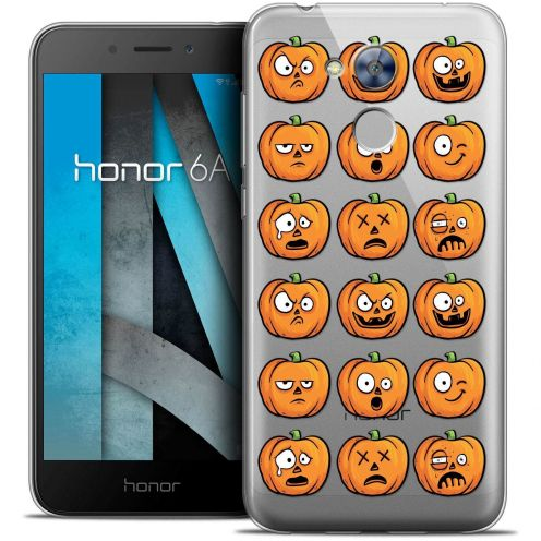"""Coque Crystal Gel Huawei Honor 6A (5"""") Extra Fine Halloween - Cartoon Citrouille"""