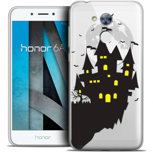 "Coque Crystal Gel Huawei Honor 6A (5"") Extra Fine Halloween - Castle Dream"