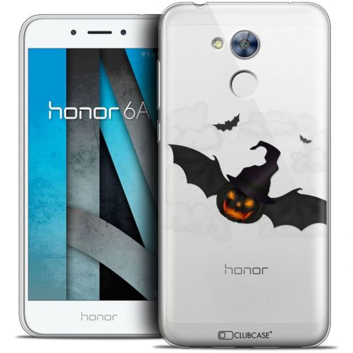 """Coque Crystal Gel Huawei Honor 6A (5"""") Extra Fine Halloween - Chauve Citrouille"""