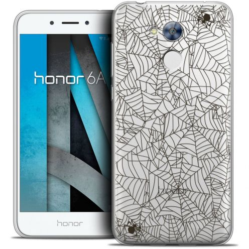 "Coque Crystal Gel Huawei Honor 6A (5"") Extra Fine Halloween - Spooky Spider"