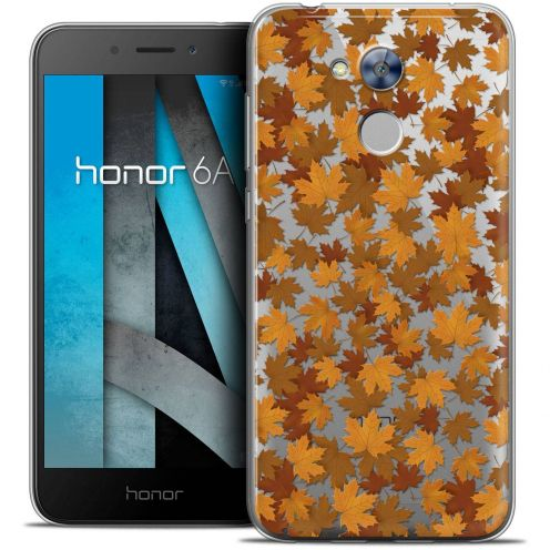 """Coque Crystal Gel Huawei Honor 6A (5"""") Extra Fine Autumn 16 - Feuilles"""