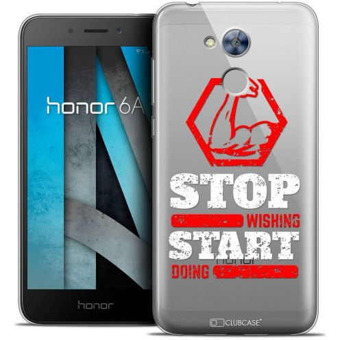 """Coque Crystal Gel Huawei Honor 6A (5"""") Extra Fine Quote - Start Doing"""