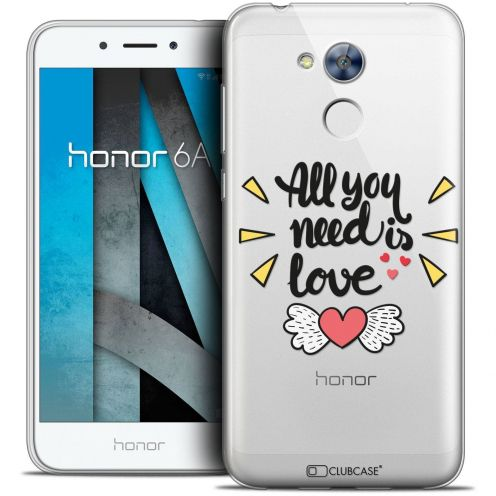 """Coque Crystal Gel Huawei Honor 6A (5"""") Extra Fine Love - All U Need Is"""