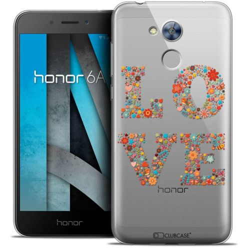 "Coque Crystal Gel Huawei Honor 6A (5"") Extra Fine Summer - Love Flowers"