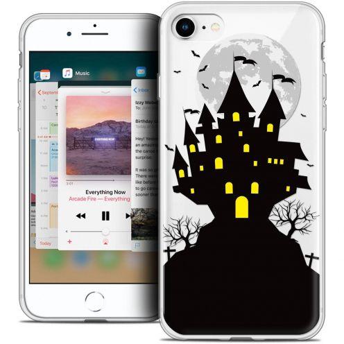 "Coque Crystal Gel Apple iPhone 8 (4.7"") Extra Fine Halloween - Castle Scream"