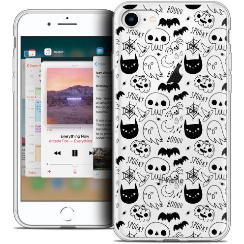 "Coque Crystal Gel Apple iPhone 8 (4.7"") Extra Fine Halloween - Spooky"