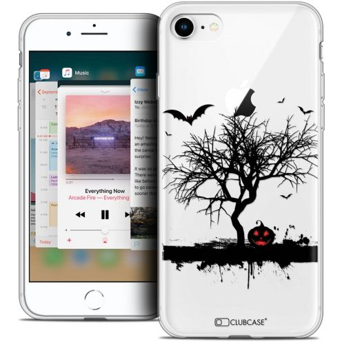 "Coque Crystal Gel Apple iPhone 8 (4.7"") Extra Fine Halloween - Devil's Tree"