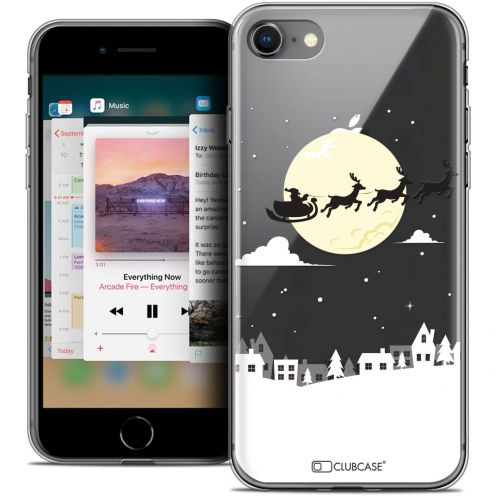 "Coque Crystal Gel Apple iPhone 8 (4.7"") Extra Fine Noël 2017 - Flying Stanta"