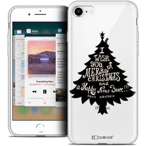 "Coque Crystal Gel Apple iPhone 8 (4.7"") Extra Fine Noël 2017 - XOXO Tree"