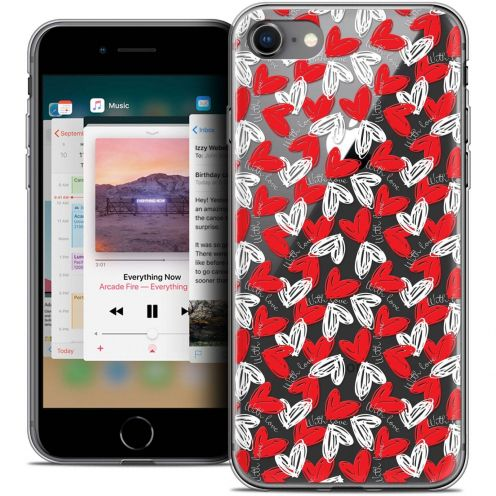 "Coque Crystal Gel Apple iPhone 8 (4.7"") Extra Fine Love - With Love"