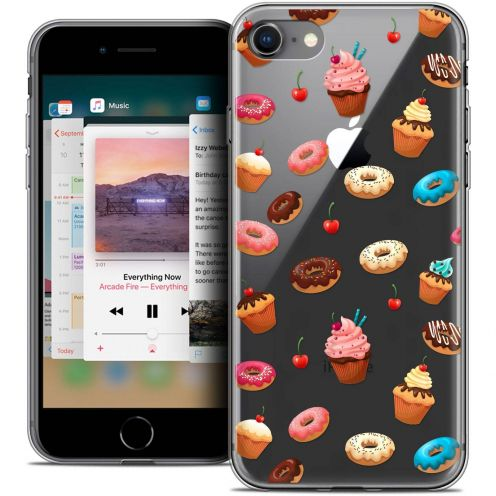 "Coque Crystal Gel Apple iPhone 8 (4.7"") Extra Fine Foodie - Donuts"