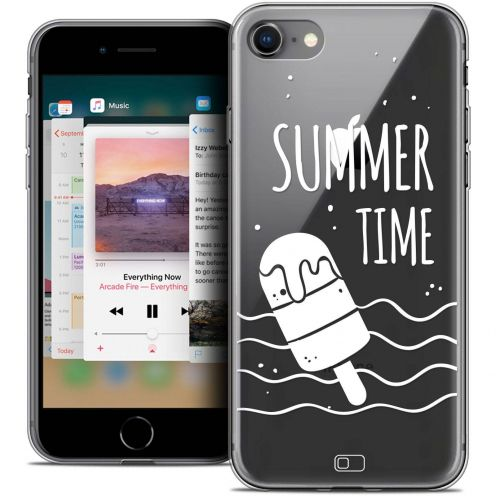 "Coque Crystal Gel Apple iPhone 8 (4.7"") Extra Fine Summer - Summer Time"