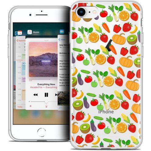 "Coque Crystal Gel Apple iPhone 8 (4.7"") Extra Fine Foodie - Healthy"