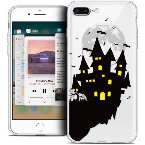 "Coque Crystal Gel Apple iPhone 8 Plus (5.5"") Extra Fine Halloween - Castle Dream"