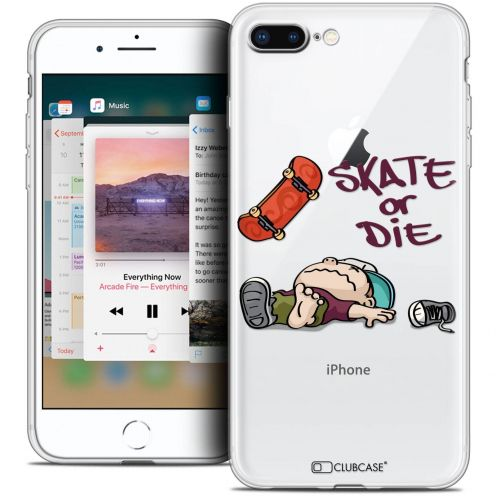 "Coque Crystal Gel Apple iPhone 8 Plus (5.5"") Extra Fine BD 2K16 - Skate Or Die"