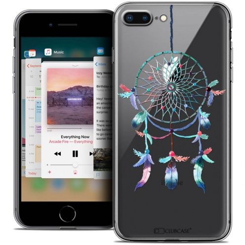 "Coque Crystal Gel Apple iPhone 8 Plus (5.5"") Extra Fine Dreamy - Attrape Rêves Rainbow"