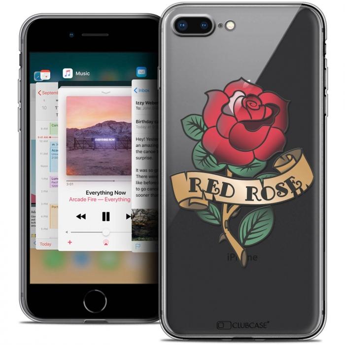 iphone 8 plus red coque